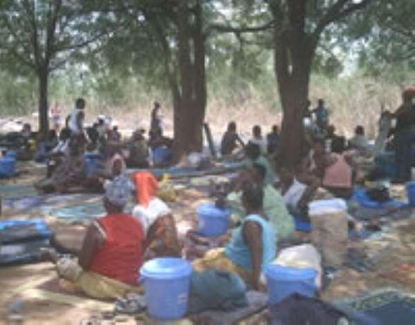 Liberian refugees return to Buduburam