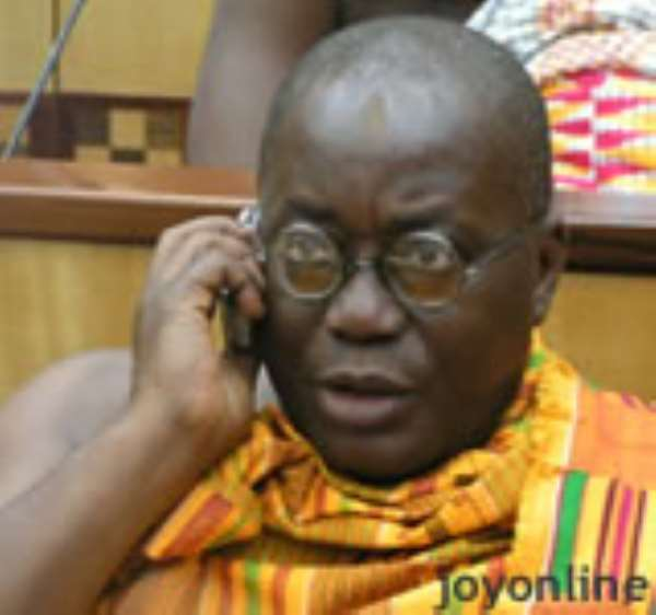 Akuffo-Addo convoy in accident