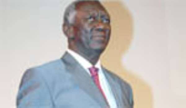 Presidential Jet Is Kufuor's Legacy