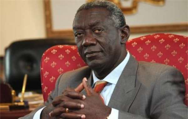 President Kufuor Attends  First Africa-India Summit