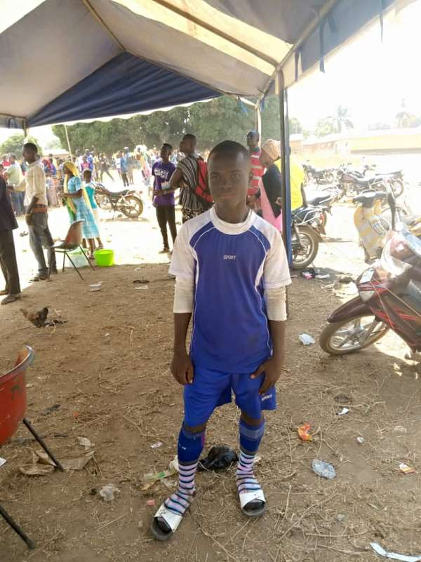 Talent Hunt: 15-Year-Old Player Manyina Prosper Tipped For Global Stardom