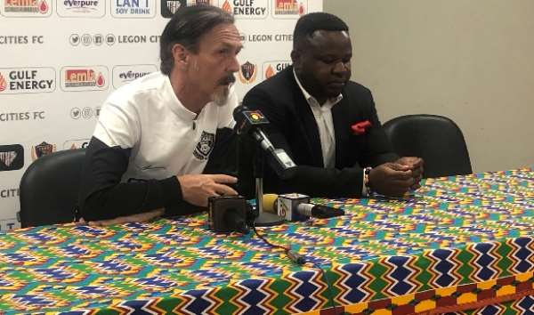 Legon Cities FC Coach Admits His Side Lacked Quality Against Kotoko