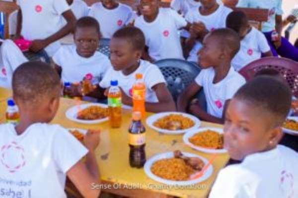 NGO SOA Fetes Children At Becky's Foundation