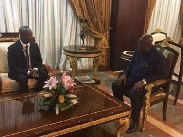Kwasi Appiah Thanks Prez Akufo-Addo For