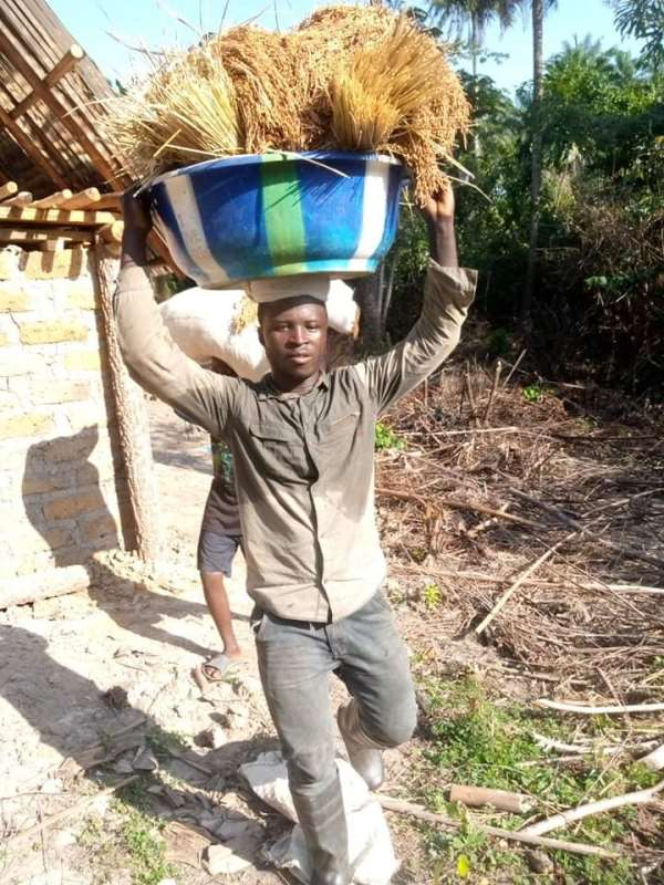 A young Liberian Farmer Galakpai Kollie calls on the Liberian government for Agricultural assistance