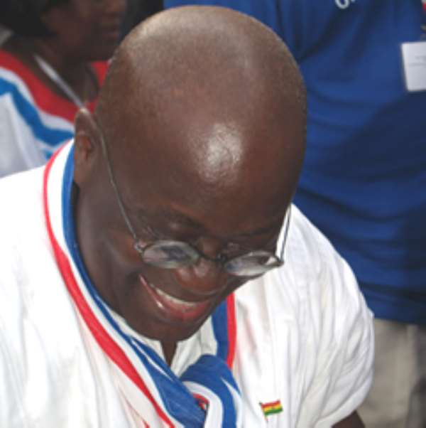 Akufo-Addo congratulates Mahama, announces running mate in August
