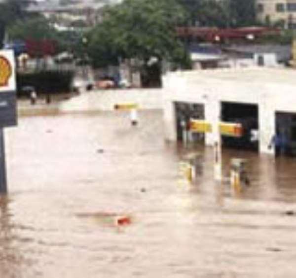 Rainfall exposes drainage flaws at Kaneshie, environs