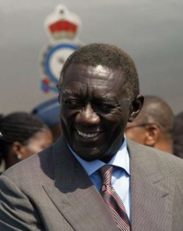 KUFUOR'S INFAMOUS MUSICAL CHAIRS