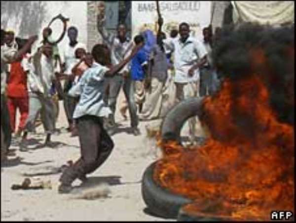 Two die in Somali currency riot