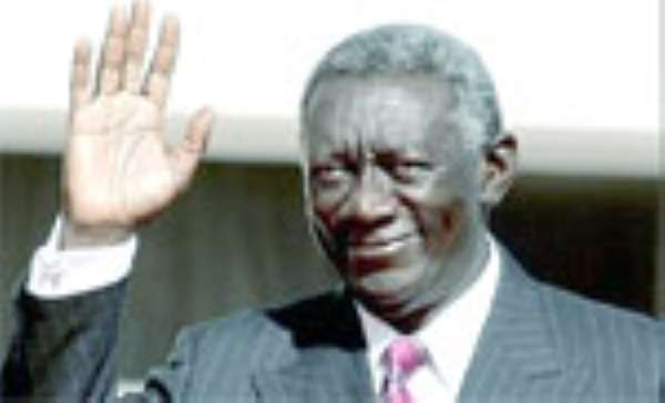 KUFUOR DOES IT