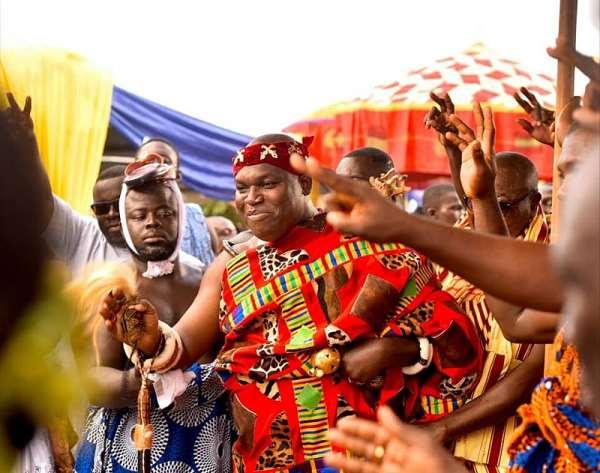 Odeneho Kwafo Akoto III, Paramount Chief of Akwamu Traditional Area