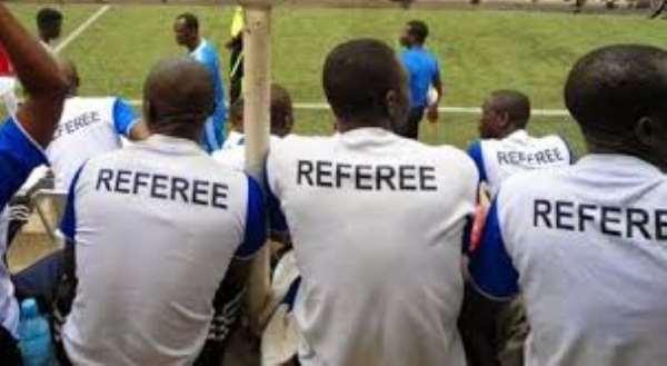 Volta Regional Football Association Meets Young Referees