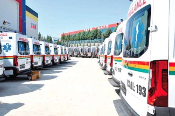 Release The Parked Ambulances Now - NDC Demands