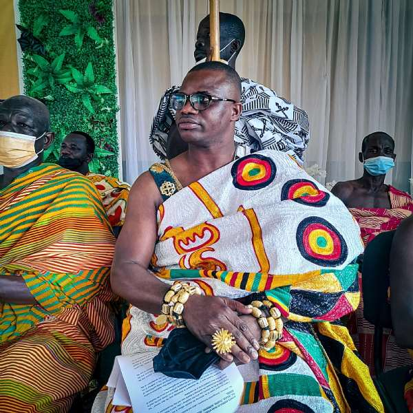 Nana Nteboa Pra IV - Himan Prestea Divisional Chief
