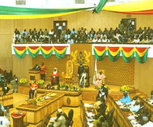 Intruder arrested in Parliament