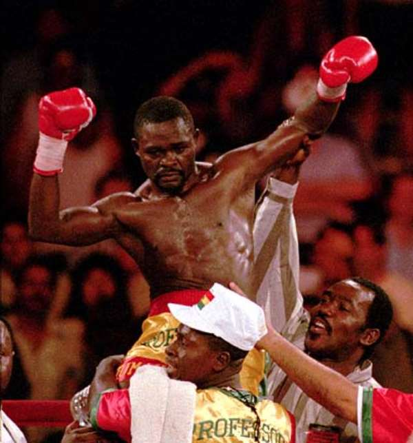 Azumah Nelson embarks on talent hunt