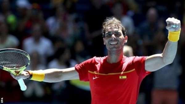ATP Cup: Rafael Nadal Puts Spain Into Quarter-Finals