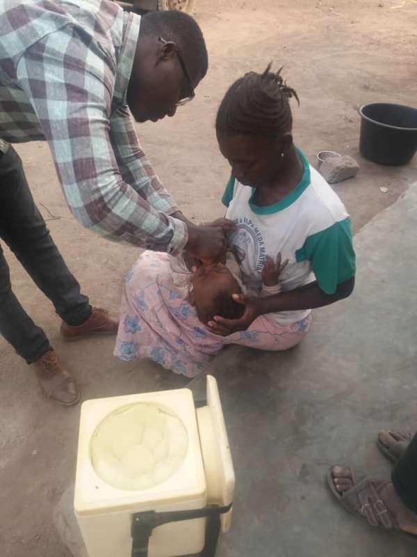 570,864 Children Vaccinated Against Polio In Bono, Ahafo Regions