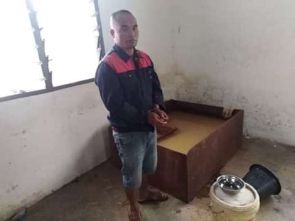 Chinese National Arrested By IMCIM For Illegal Mining
