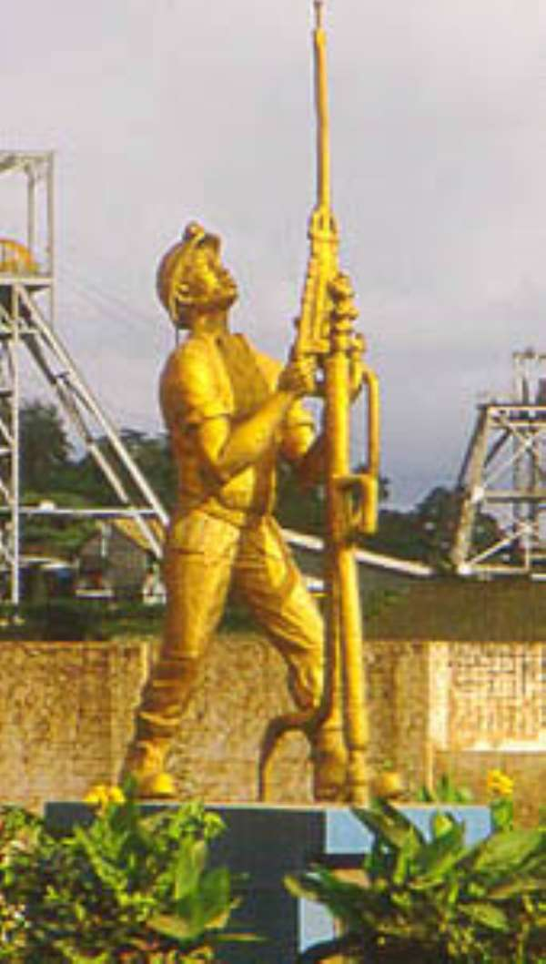 Kufuor launches AngloGold Ashanti at Obuasi