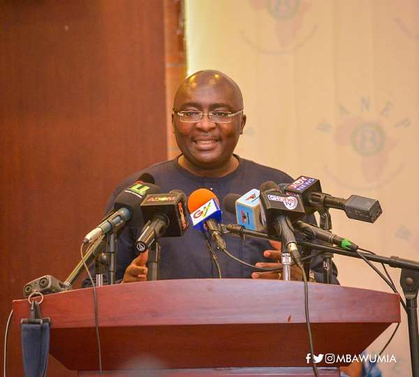 Vice President Bawumia Off To The USA