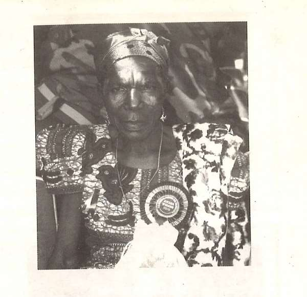 Theresah Ameyo Adotey Of Mepe Traditional Area: The First Female Second National Best Fisherman In 2003 Is Dead