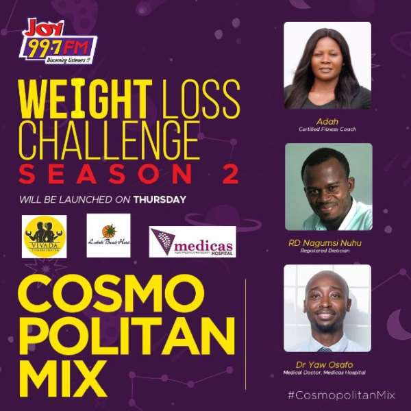 Joy FM's 'Weight Loss Challenge' is back