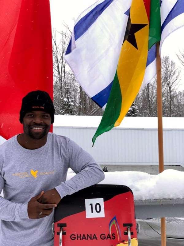Ghana's Skeleton Olympian Akwasi Frimpong Captures First Top 10 Finish