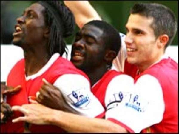 Ghanaians back Adebayor for BBC award