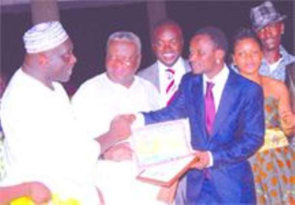 Agbeko Dedicates Award To Peaceful Election