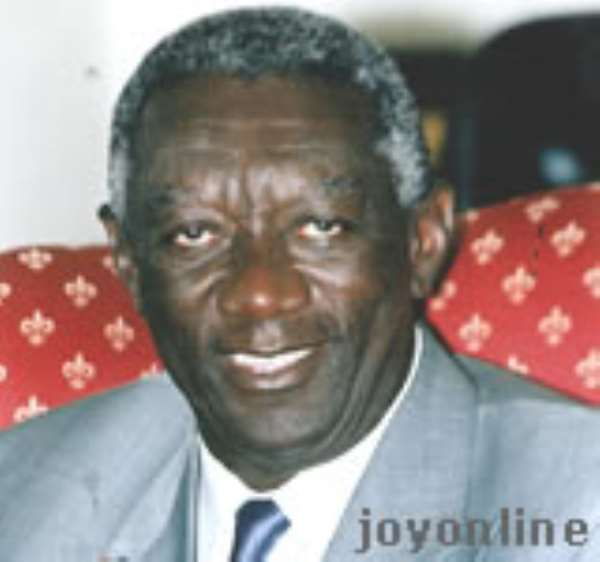 President Kufuor lauds political neutrality of military
