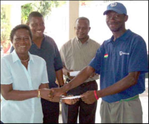 Amartey Wins Tema Caddies Competition