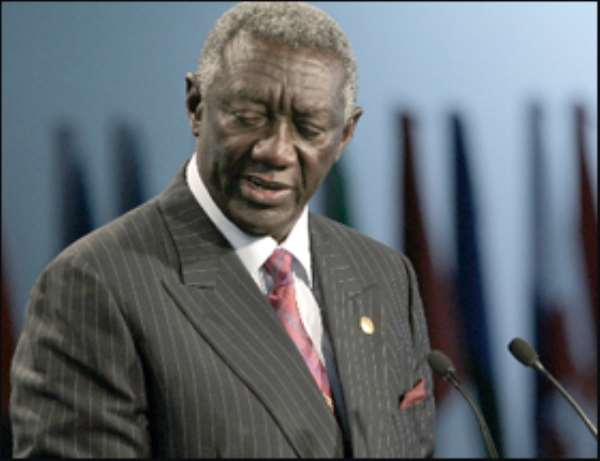 Kufuor's 5yrs Challenged