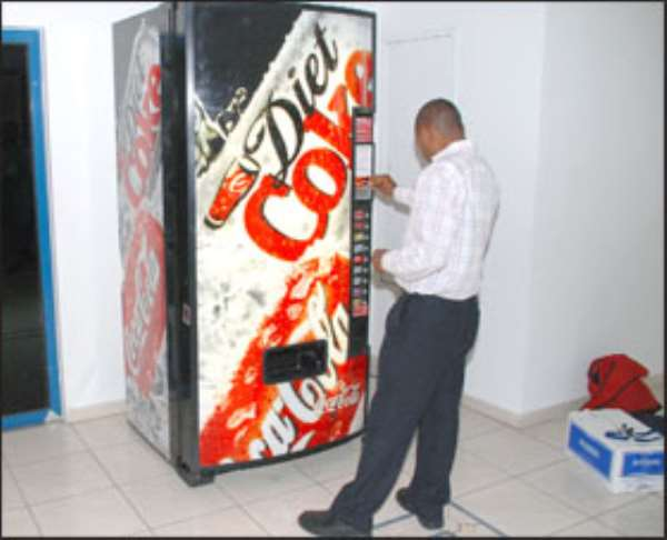 Coca Cola Introduces Vending Machines