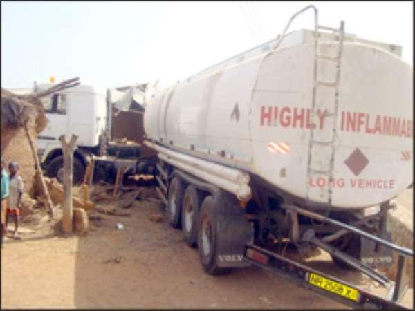 Tanker Kills Two