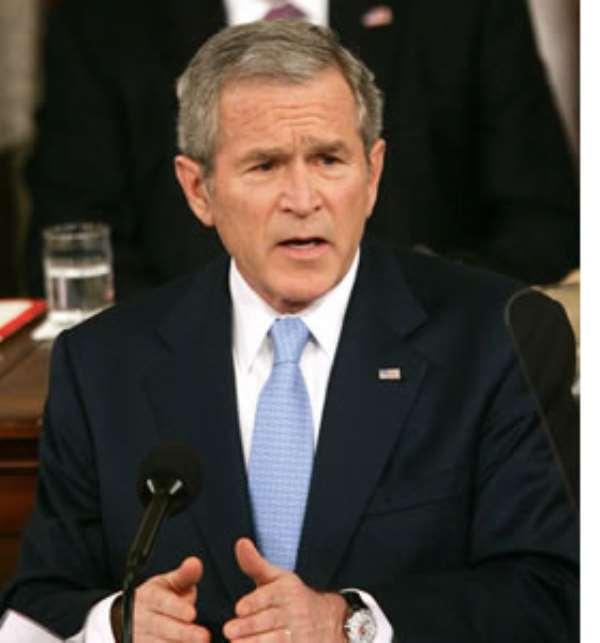 Blair awarded top medal by Bush