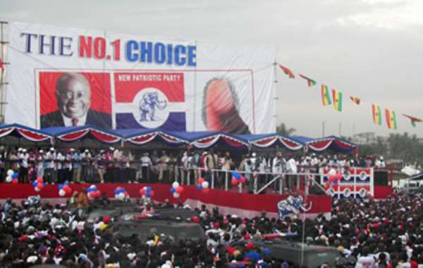 NPP holds thank-you-rally in Accra