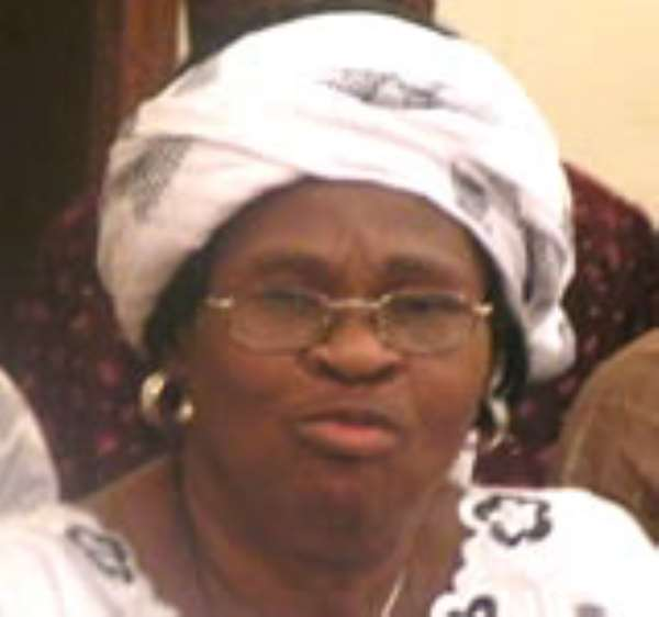 Gladys Asmah, Biney in a brawl over defeat of NPP