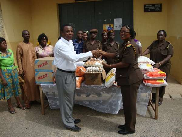 The Lord's Pentecostal Church International Donates to Nsawam Female Inmate's