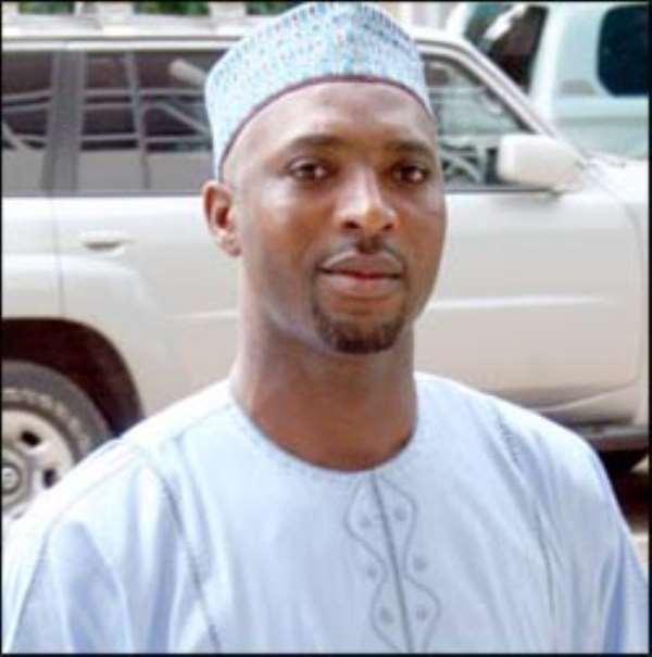 Minister of Youth and Sports  Mubarak Muntaka