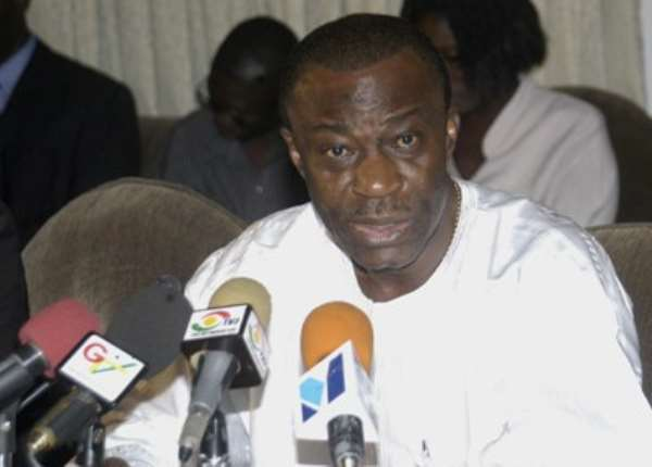 A Former Deputy Finance Minister in the erstwhile NPP administration, Dr. Anthony Akoto Osei