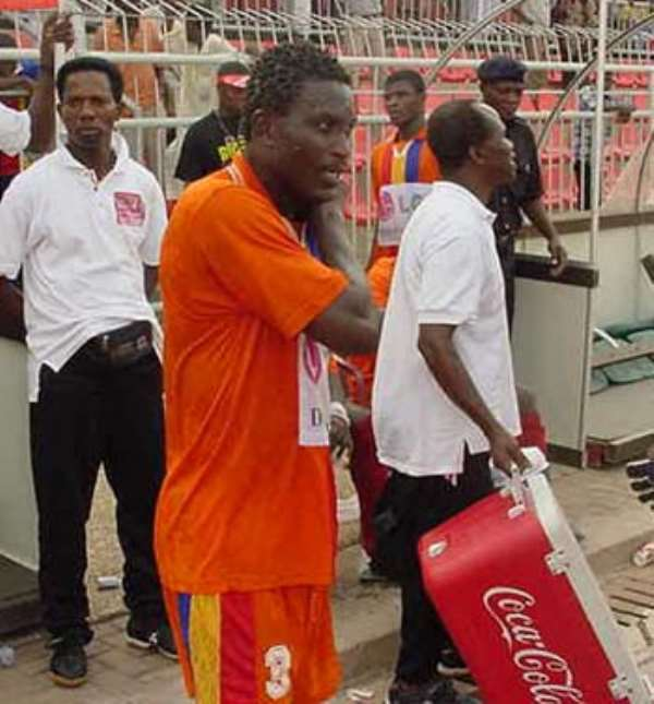Kuffour still in the hunt for goal king title