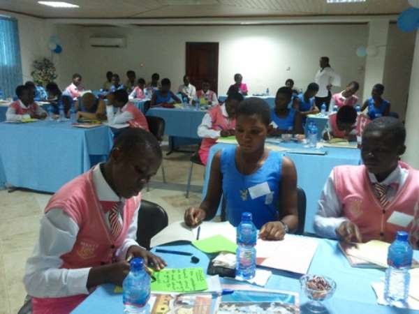 Young Women Share Views On Gender Studies....After A Six-Day Workshop In Accra