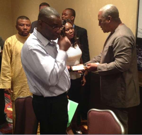NDC USA Women Organizer Commends President Mahama's 10% Salary Sacrifice