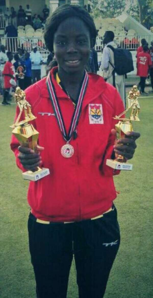 University Of Ghana Student Grabs Two Awards At Hockey AFCON In Kenya