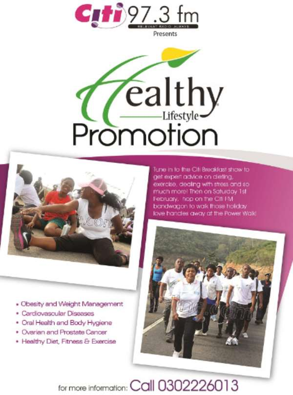 Citi FM's Healthy Lifestyle Promotion Is Back!