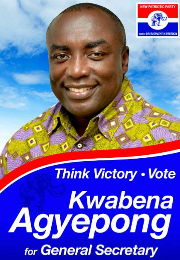 I Want To Be A Practical General Secretary—Kwabena Agyepong