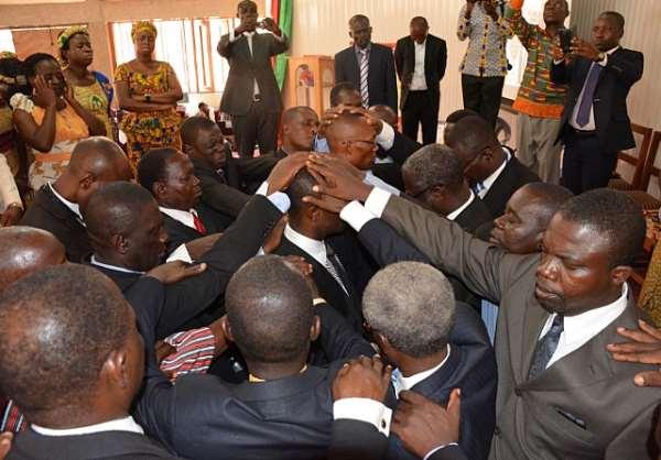 Tamale SDA Ordains New Pastors