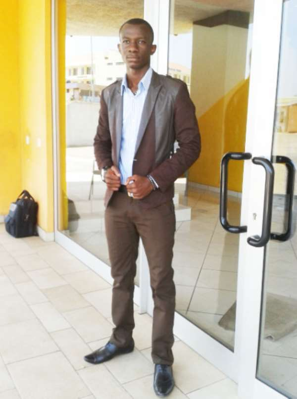 Osumanu Abubakar, The Author