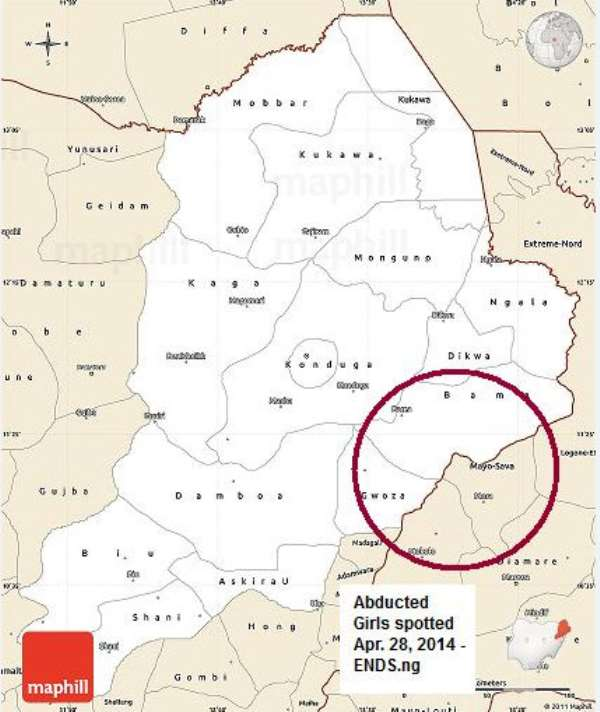 Breaking News: Abducted Girls Reported Seen Around Gwoza